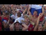 Фанзона в Сочи смотрит серию пенальти Испания Россия