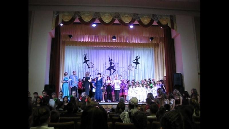Награждение дипломом хореографа и руководителя Алексаненко А.И. за весомый вклад в развитие танцевального искусства в г. Синель
