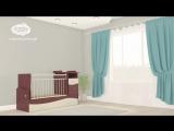 Видеоинструкция по сборке кроватки-трансформера Чунга-Чанга