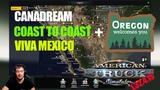 ATS 1.32Связка CanaDream+C2C+Viva Mexico American Truck Simulator