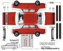 Развертки советских авто (для склеивания) 84 штуки, просто распечатываем на цветном принтере, вырезаем, и склеиваем!