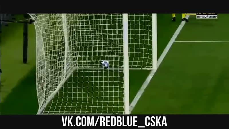 🎥Vine | Арнор забивает свой первый гол за ЦСКА в ворота «Ромы» 😋