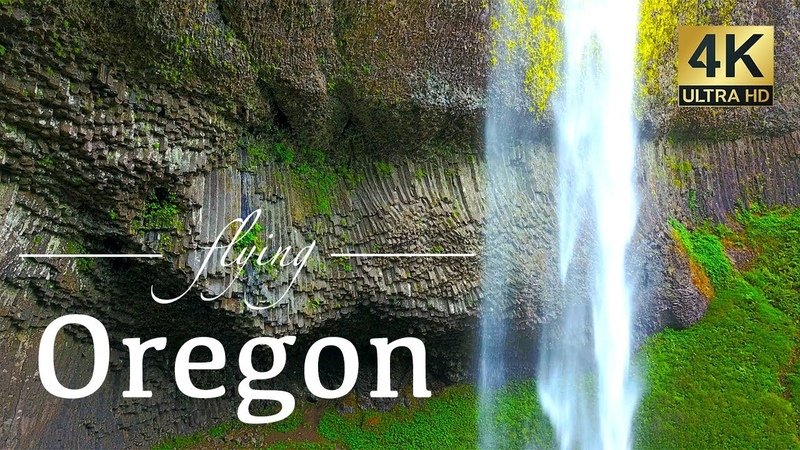 Oregon By Drone - Our Exclusive 4K Aerial Footage - Pacific Coast, Ecola, Portland Area More