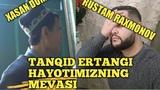 XASAN DOMLA YOLG'ON GAPIRMANG SIZGA YARASHMAYDI