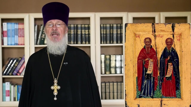 Православный календарь. Пятница, 12 октября, 2018г. Преподобного Кириака Палестинского