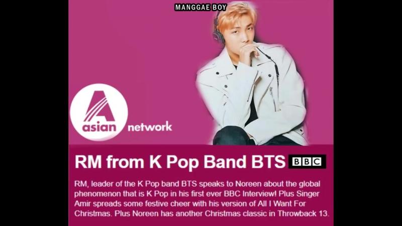 171222 BTS RM Interview @ BBC Asian Network Radio