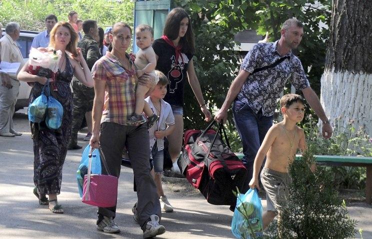 В Ростовскую область за трое суток прибыли почти 20 тысяч беженцев с юго-востока Украины