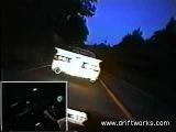 Crazy illegal Japanese touge drifting R32 Nissan Skyline