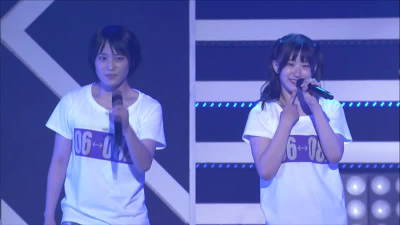 NMB48 Team BII Niji no Tsukurikata @ 180830 NMB48 LIVE IN SUMMER 2018 Hiroshima