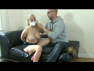 Employee Tied Up and Gagged