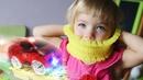 Учим цвета с машинками Мэджик тракс Learn colors with Magic Tracks Educational video for kids