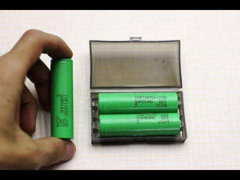 Полный обзор и тест высокотоковых LI-ION аккумуляторов INR18650-25