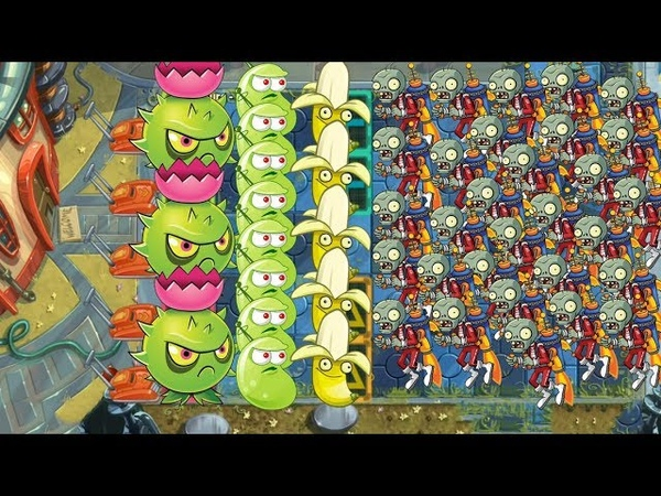 Plants vs Zombies 2 - Laser bea, Homing Thistle and Banana Launcher