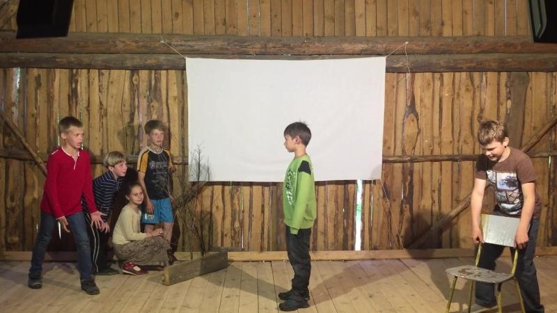 Корней Чуковский Тараканище Читают дети из детского православного лагеря Вестники 2016 год