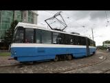 📹 [ВИДЕО] ⚡ В Усть-Каменогорске на линии выпущены новые трамваи !