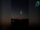 Метеорит в Сургуте с разных ракурсов