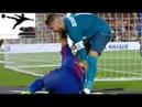 Серхио Рамос грубо переворачивает и бросает Суареса ● Sergio Ramos rough turns and throws Suarez