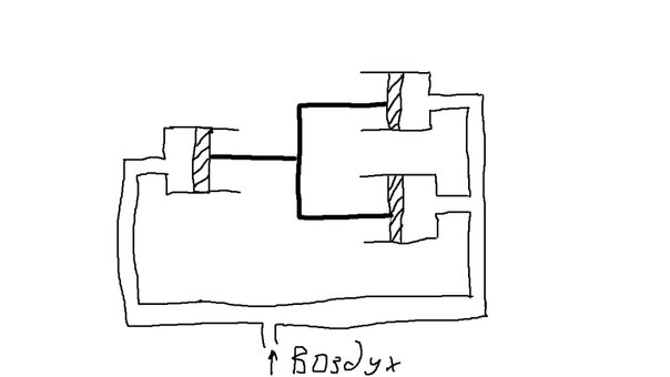 как показано на схеме.