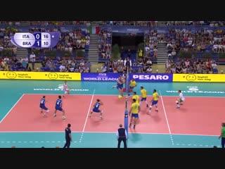 ITALY vs BRAZIL FIVB WORLD LEAGUE 2017 Filippo Lanza