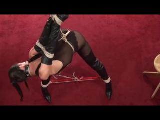 Lorena Garcia bondage and spank