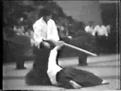 Yasunari Kitaura Shihan Aikido Demonstration Paris 1980