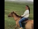 Каталась на лошади