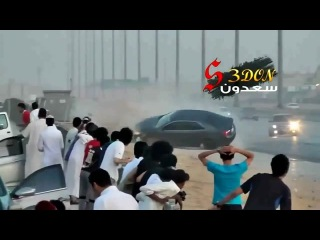 Spectacular Crash During Saudi Drift 2012 HD | Arab Drift Accident Killing 4