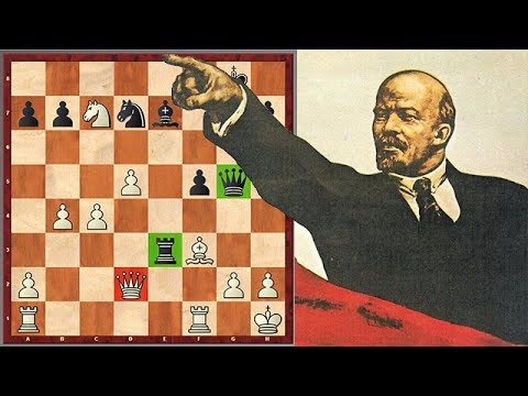 The Only Survived Chess Game Played By Vladimir Lenin