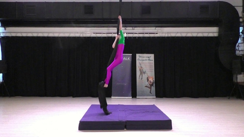 Анна Фирсова Catwalk Dance Fest pole dance aerial 30 04 18