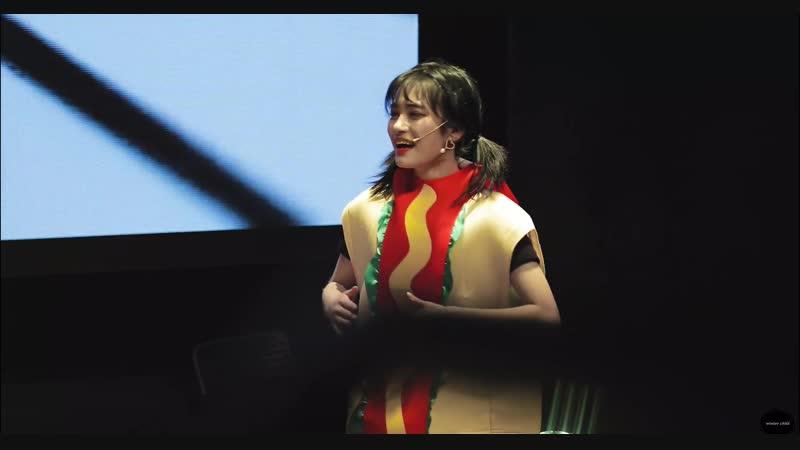 181202 버스터즈(Busters) 지수(Jisoo) 소년점프 패러디 직캠 @대원콘텐츠라이브홀