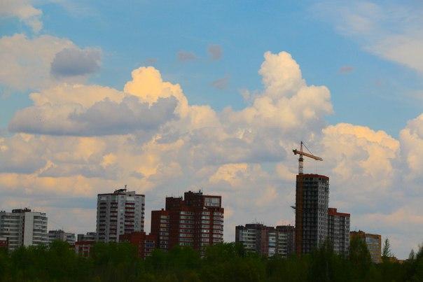 Облака над Пермью💕☀