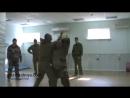 Защита от ударов Архивные съемки Пластунский рукопашный бой система боя Леонид Полежаев