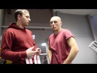 Жим лежа и сила хвата для бойца с Бадюк Тим — тренировка с Дмитрием Суховаровым (Badyuk Team)
