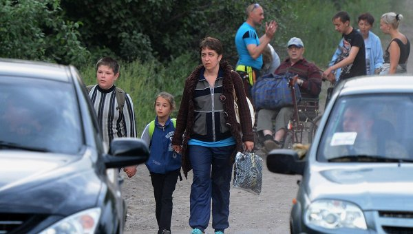 Ростовская область готовится к еще большему притоку украинских беженцев