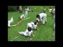 Capoeira Angola Marrom e alunos