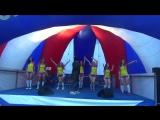 Нэлли Мотяева и сборная команда(Территория гостеприимства. Москва. Лето. Футбол,Культурный центр Салют)