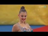 Александра Солдатова булавы личное многоборье Чемпионат Мира София 2018