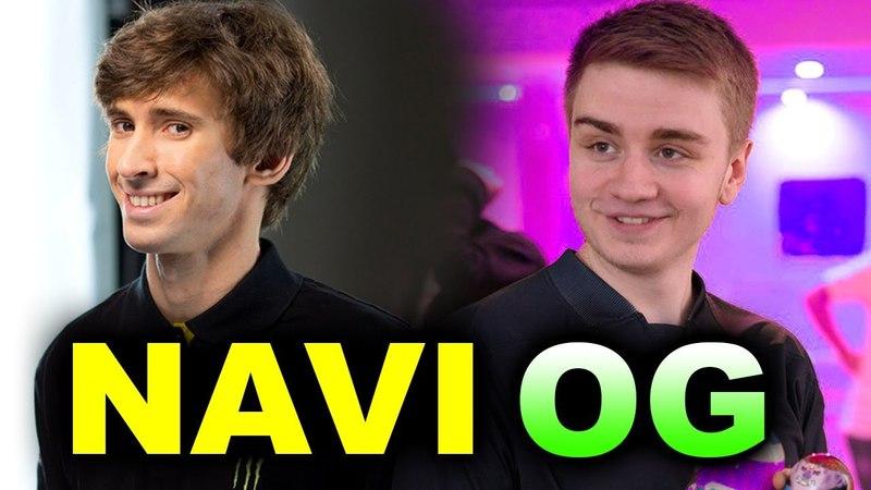NAVI vs OG - BEAUTIFUL DOTA - EPICENTER MAJOR DOTA 2
