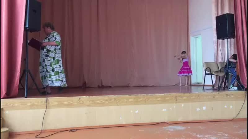 Танец Буги-Вуги в исполнении Волковой В. и Зарницыной А.