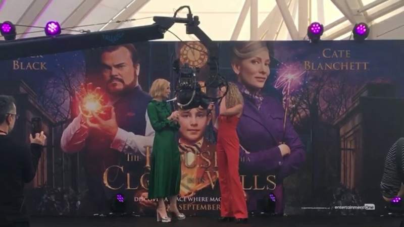 Cate Blanchett at the premiere of The House with A Clock in its Walls in London