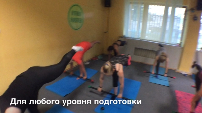 FUNCTIONAL WORKOUT. Бодибары