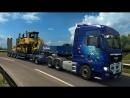 Euro Truck Simulator 2!!! МАРШРУТ №2!!! ЭХ ВЗДЫХАЛИ ДАЛЬНОБОЙ ШТУКА НЕ ПРОСТАЯ!!!