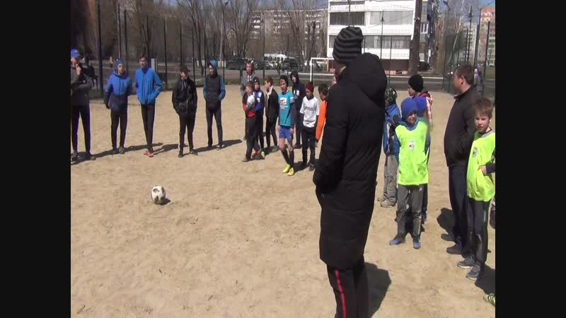 Фрагмент турнира по мини футболу. Май 2018_12