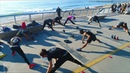 Tabata Group Fitness Beach Workout in Chile w/PortalesFit