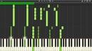 ONE OK ROCK - Pierce - Piano MIDI Version