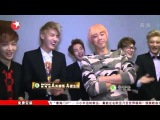140315 不朽之名曲 Immortal Song Chinese Ver. EXO-M Cut 5 Backstage giving away albums