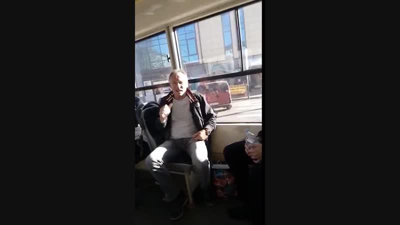 Музыкальный трамвай в Смоленске