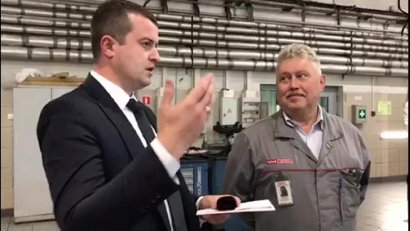 Лосенков Андрей 20 лет работы в РОЛЬФ Витебский!