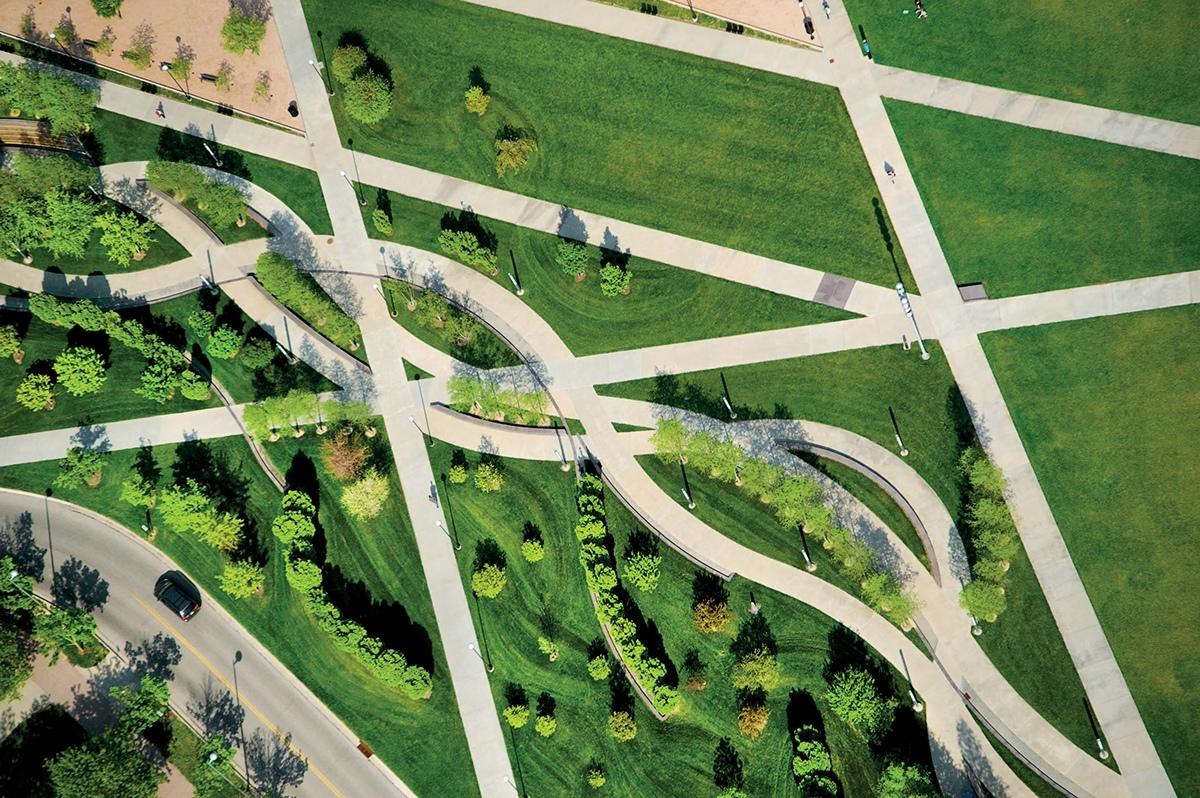 Университет Цинциннати Огайо, Campus Green