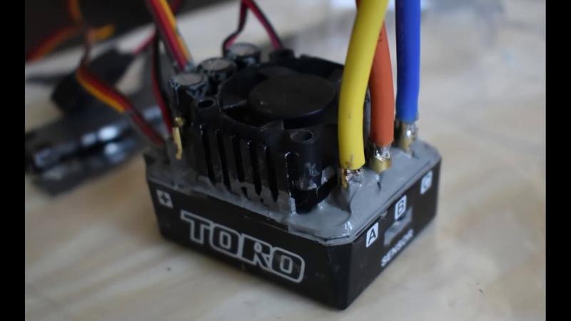 Герметим и запекаем в духовке регулятор SkyRC TORO TS-150